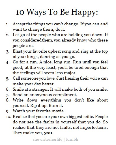 10 ways to be happy amy rees anderson s blog