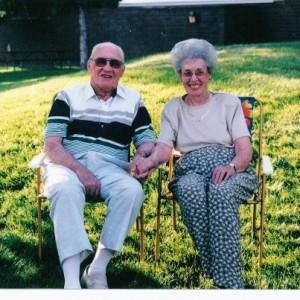 Grandpa Stanley Rees and Grandma Helen Rees - together again.