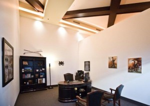 Dave Chidester's office
