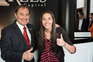 Governor Gary Herbert with my daughter Ashley