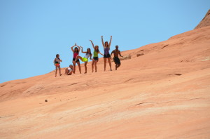 Forever friendships are formed at Lake Powell!