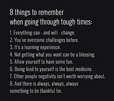 8 things to remember when going through tough times | Amy ...